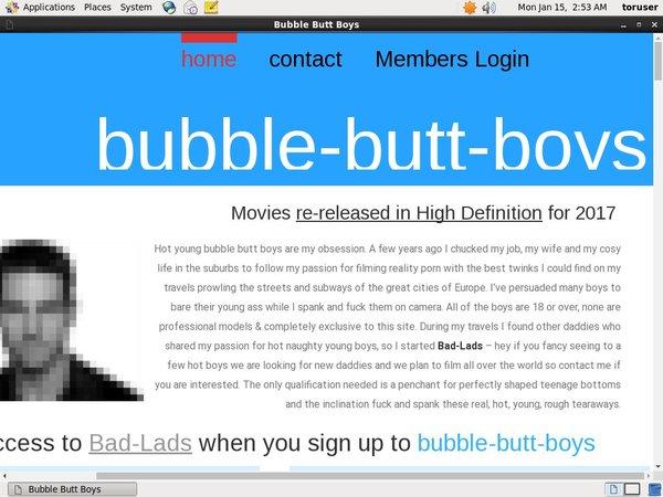 Bubble Butt Boys Hack Account