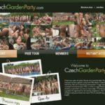 Czech Garden Party Creampie