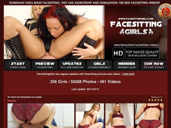 Special Facesittinggirls Free Trial