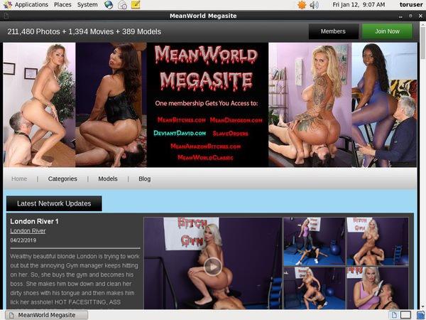 Gratis Meanworld.com Konto