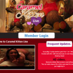 Hd Caramel Kitten Live