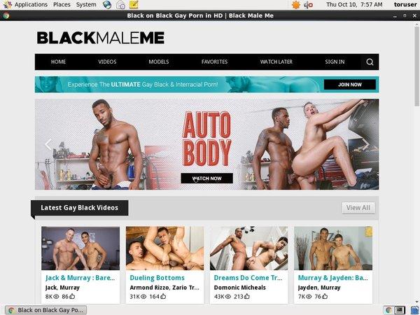 Free Video Black Male Me
