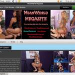 Mean World MegaSite Ad