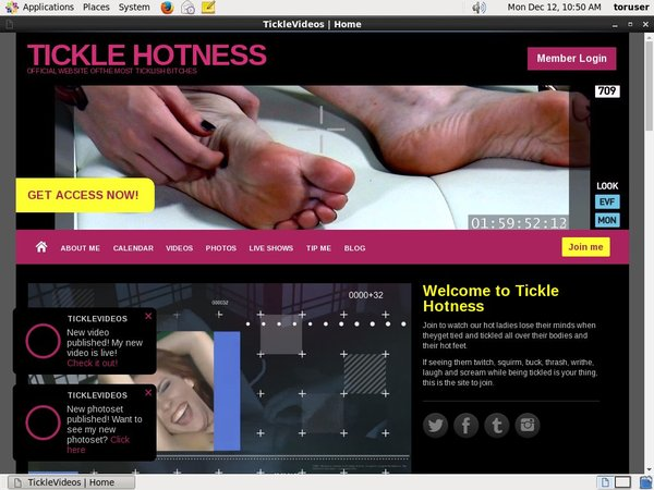 TICKLE HOTNESS Official