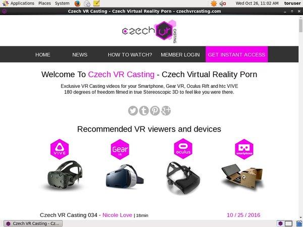 Czechvrcasting.com Review Site