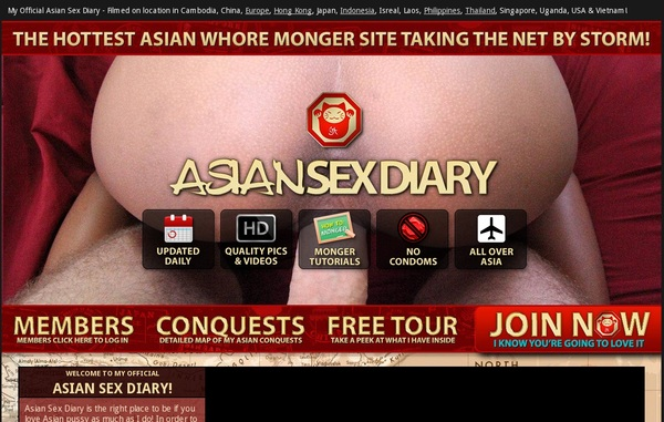 Asiansexdiary One Time Discount