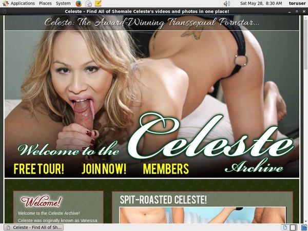 Celeste TS Login Password