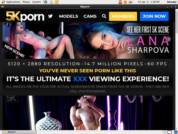 Discount 5kporn.com Account