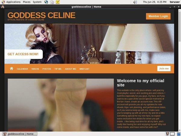 Goddessceline.net Discount Trial Free