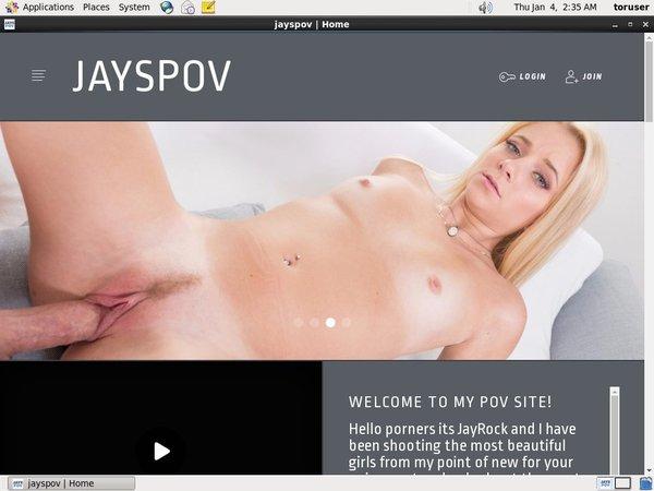 JaysPOV Register Free