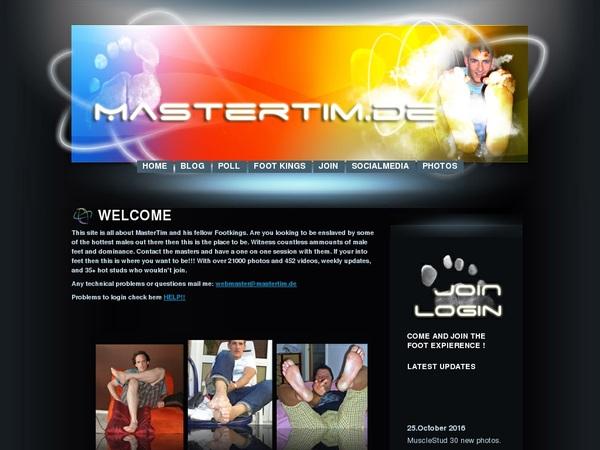 Master Tim Free Access