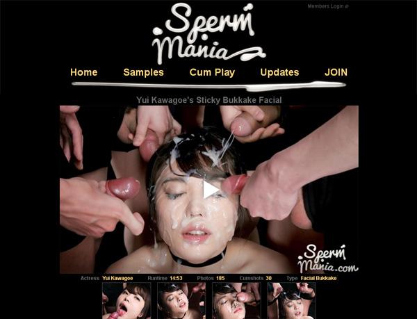 Sperm Mania Account 2014