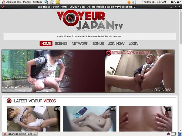 Voyeur Japan TV Password Username