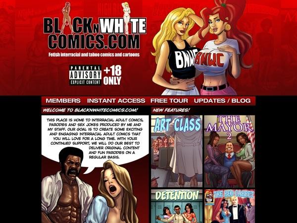 Free Blacknwhitecomics.com Passes
