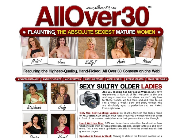 Free Password Allover30.com